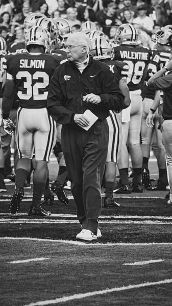 Kansas State University Photograph - Head Coach Bill Snyder Of Kansas State by Pixabay