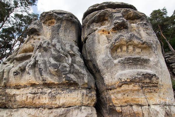 Wall Art - Photograph - Heads Of Devils by Michal Boubin