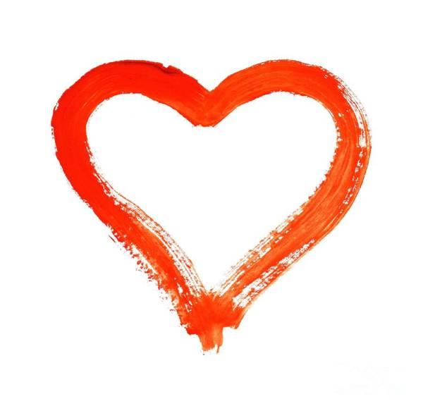 Wall Art - Drawing - Heart - Symbol Of Love by Michal Boubin