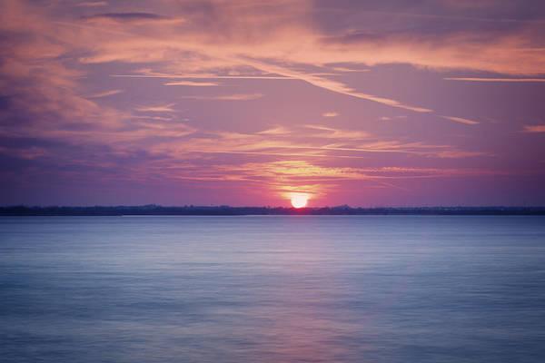 Wall Art - Photograph - Hefner Sunset by Ricky Barnard