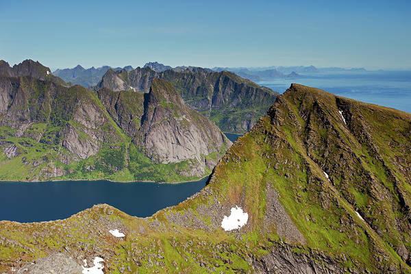 Photograph - Helvete And Kirkefjord From Munken by Aivar Mikko