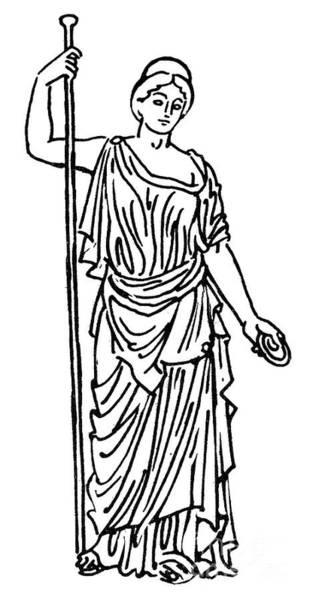 Drawing - Hera / Juno by Granger