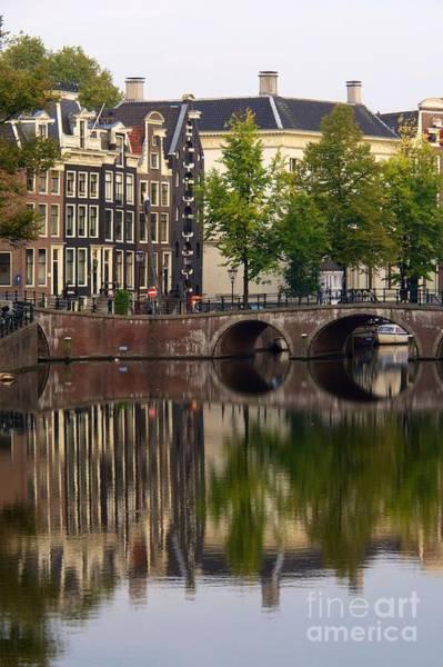 Wall Art - Photograph - Herengracht Canal. Amsterdam. Netherlands. Europe by Bernard Jaubert