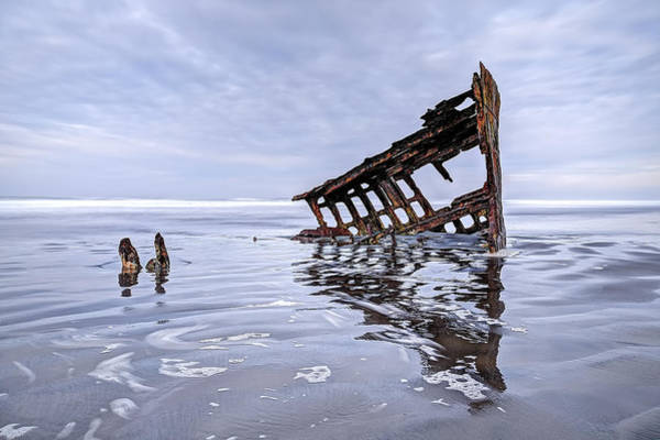 Photograph - The Peter Iredale Wreck, Cannon Beach, Oregon by Kay Brewer