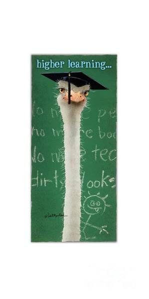 Wall Art - Painting - Higher Learning... by Will Bullas