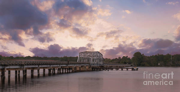 Photograph - Highway 41 Swing Bridge by Dale Powell
