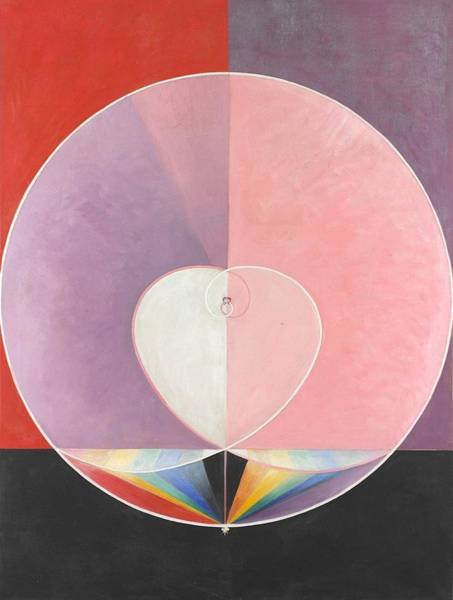 Wall Art - Painting - Hilma Af Klint by MotionAge Designs