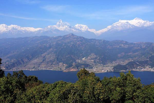 Photograph - Himalayan Mountain Range by Aidan Moran