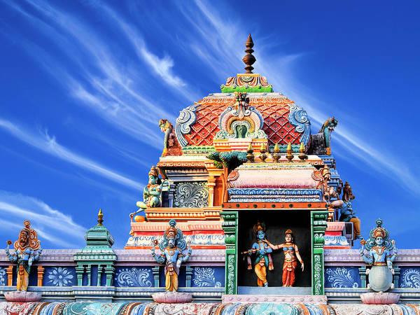 Northern India Photograph - Hindu Temple Chennai India by Dominic Piperata