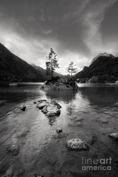 Lakeside Wall Art - Photograph - Hintersee by Nailia Schwarz