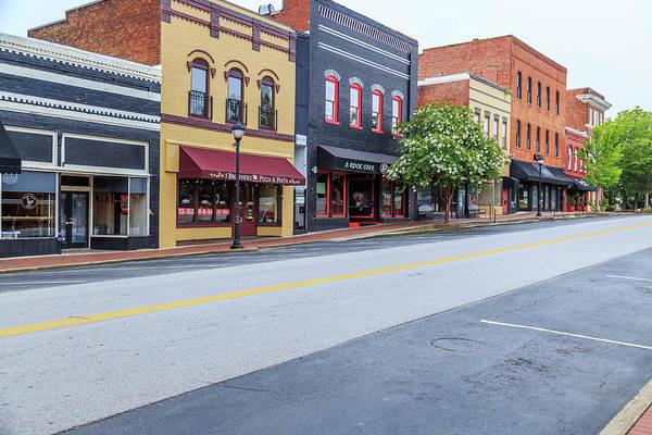 Photograph - Historic Buford Downtown Area by Doug Camara