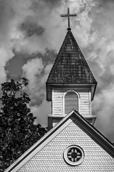Photograph - Historic Church by James Woody