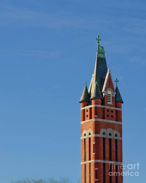 Photograph - Historic First Presbyterian Church Bell Tower by Patrick M Lynch