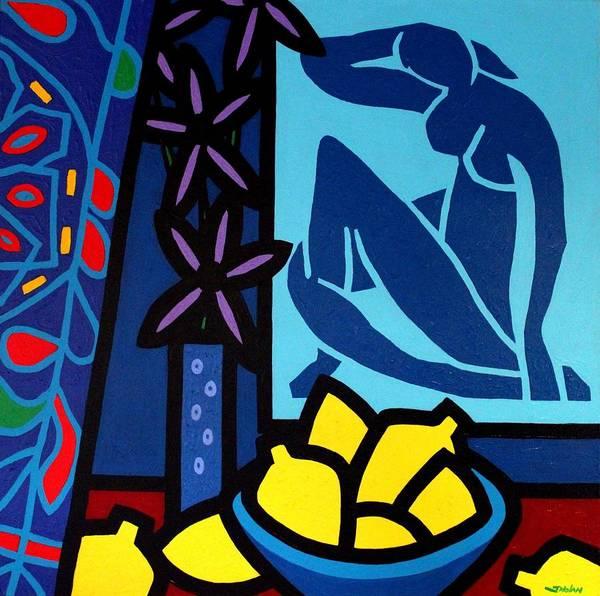 Wall Art - Painting - Homage To Matisse I by John  Nolan