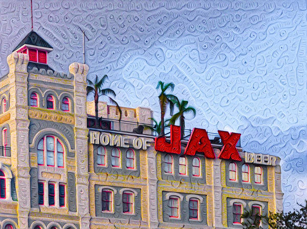 Wall Art - Painting - Home Of Jax Beer by Bill Cannon