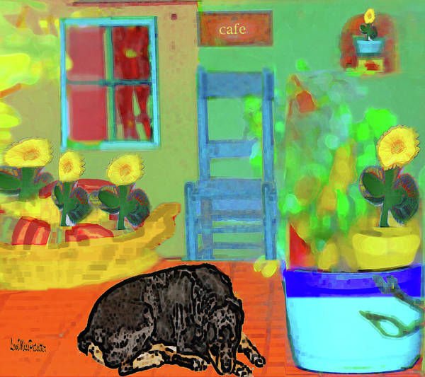 Digital Art - Home Sweet Home Painting 5 by Miss Pet Sitter