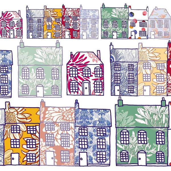 Cheery Digital Art - Home Sweet Home by Sarah Hough