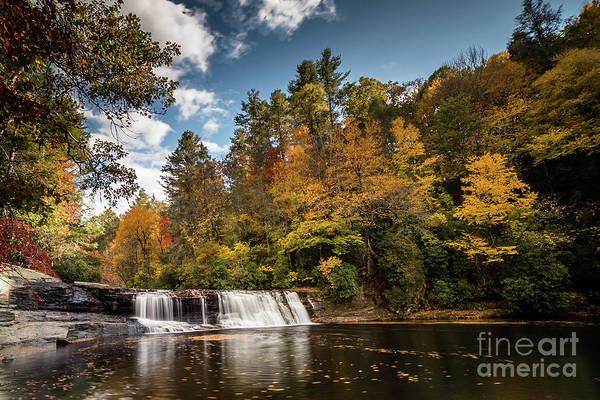 Dupont Wall Art - Photograph - Hooker Falls by DiFigiano Photography