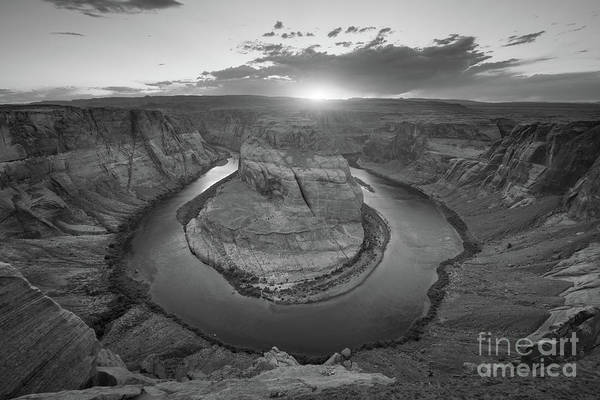 Photograph - Horseshoe Bend Sunset by Michael Ver Sprill