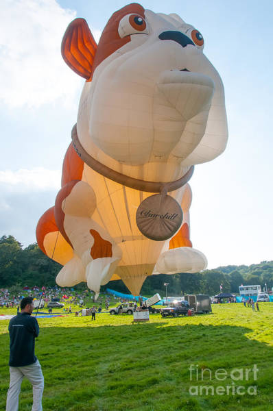 Photograph - The 'churchill' Hot Air Balloon by Colin Rayner