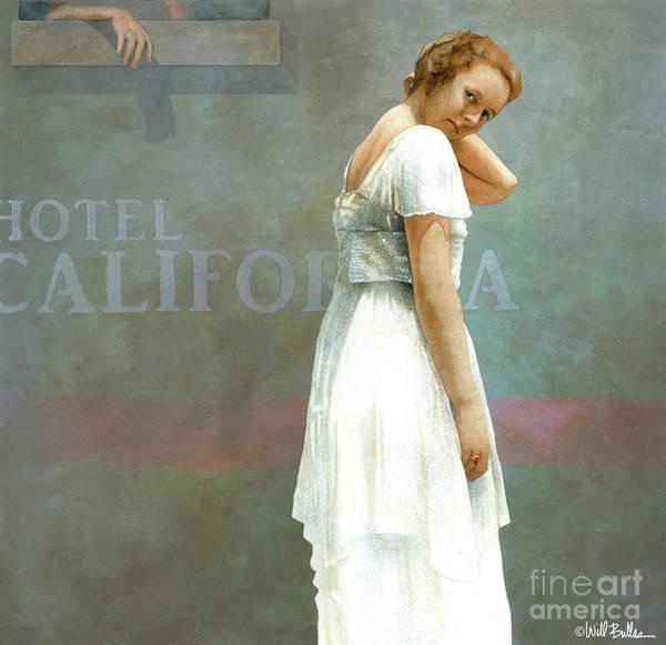 Wall Art - Painting - Hotel California by Will Bullas
