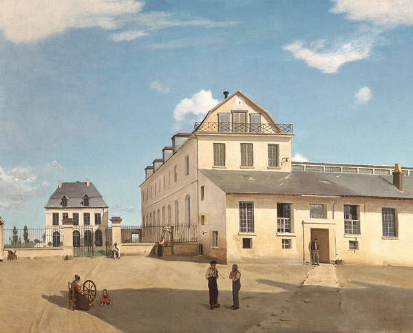 Painting - House And Factory Of Monsieur Henry by Jean-Baptiste-Camille Corot