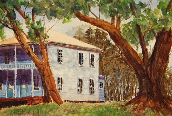 Painting - House On Front Street by Barry Jones