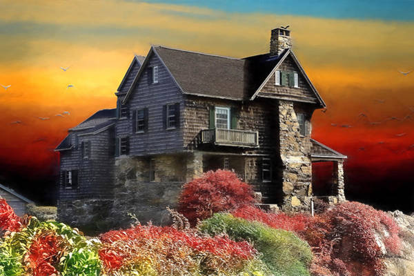 Photograph - House On The Hill by Ericamaxine Price