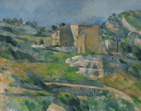 Cezanne Wall Art - Painting - Houses In Provence by Paul Cezanne