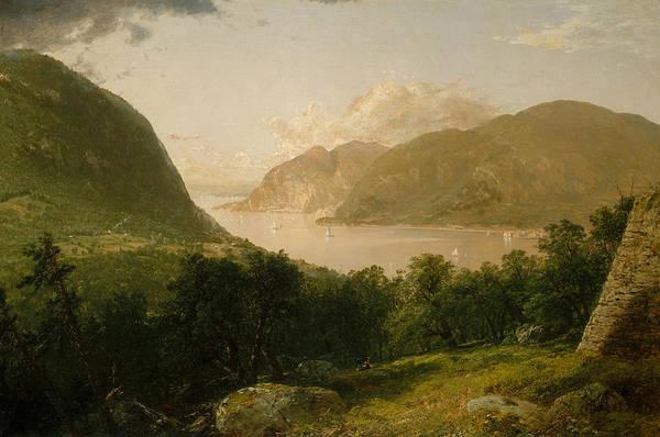 Painting - Hudson River Scene by John Frederick Kensett