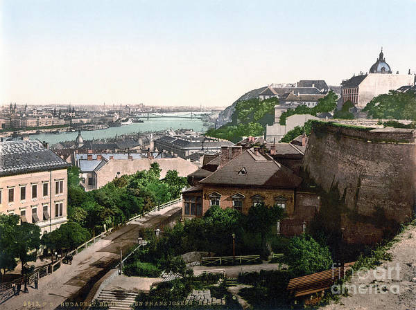 Painting - Hungary: Budapest, C1895 by Granger