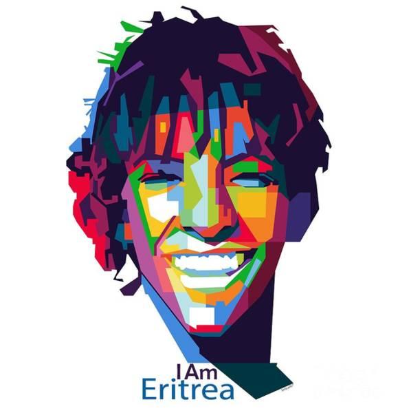 East Africa Digital Art - I Am Eritrea by EriScarfs