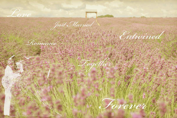 Together Forever Photograph - I Do by Angela Aird