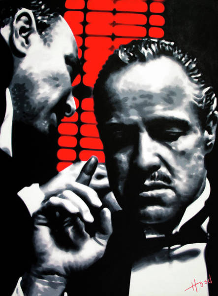 Robert De Niro Wall Art - Painting - I Want You To Kill Him by Hood alias Ludzska