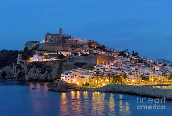 Wall Art - Photograph - Ibiza Town by John Greim