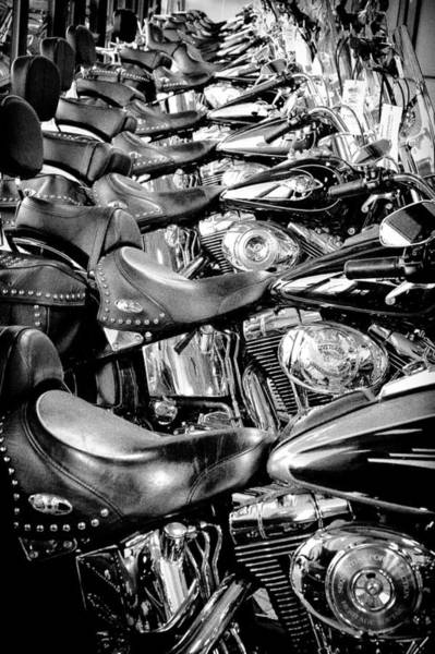 David Patterson Photograph - I'll Have A Dozen Harley's To Go Please by David Patterson