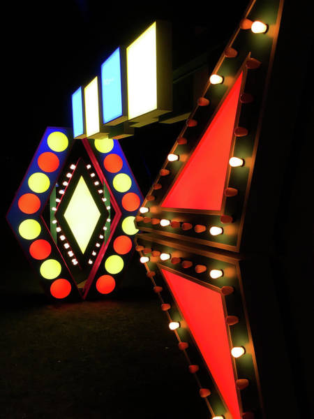 Photograph - Illuminated Designs by Mark Dodd