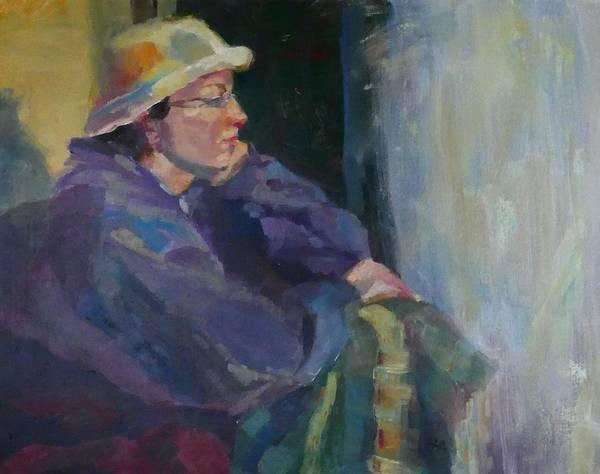 Painting - Impatient Rain by Irena Jablonski