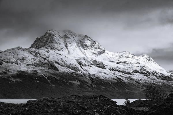 Beinn Eighe Photograph - Imposing - Slioch - Loch Maree - Scotland by Paul Robertson