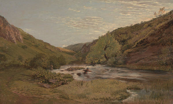 Painting - In Dovedale by John Linnell