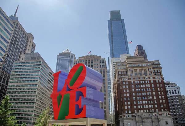 Wall Art - Photograph - In Love With Philadelphia by Bill Cannon