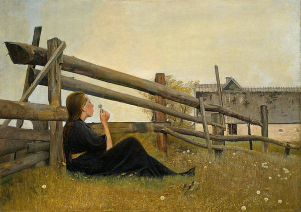Laurits Andersen Ring Painting - In The Month Of June by Celestial Images