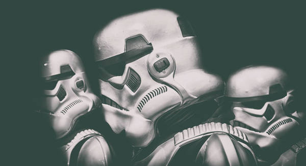 Stormtrooper Photograph - In The Shadows by Martin Newman