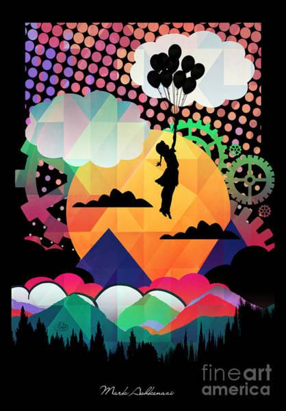 Pop Surrealism Wall Art - Digital Art - In The Sky  by Mark Ashkenazi
