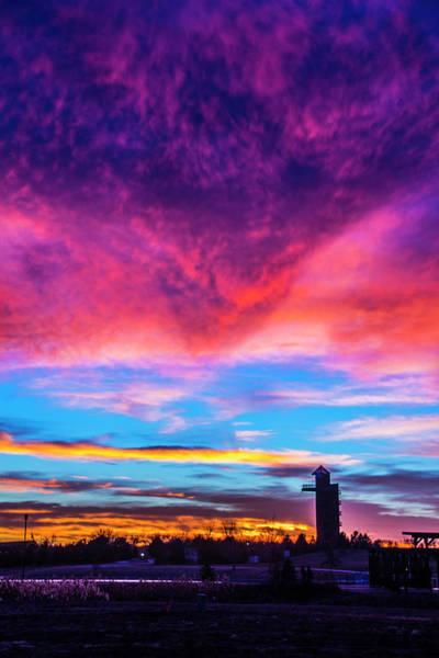 Photograph - Incredible Nebraska December Sunset 009 by NebraskaSC
