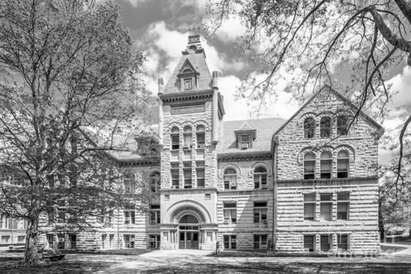 Gi Photograph - Indiana University Kirkwood Hall  by University Icons