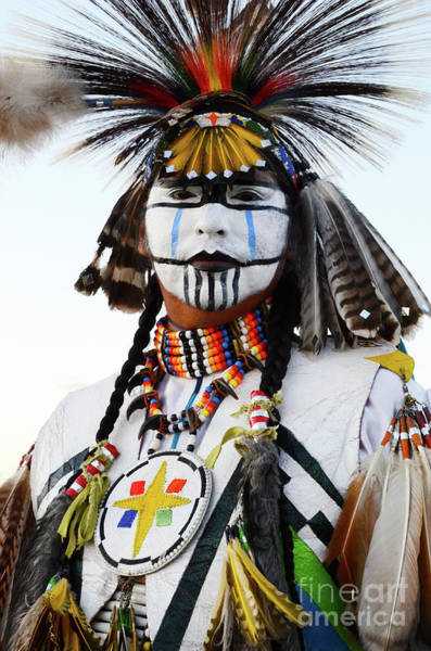 Beading Photograph - Indigenous People Canada 3 by Bob Christopher