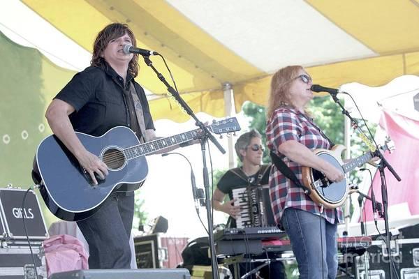 Folk Singer Photograph - Indigo Girls Amy Ray And Emily Saliers by Concert Photos