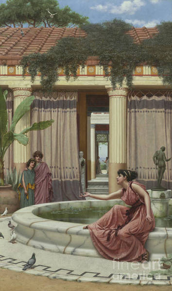 Wall Art - Painting - Innocent Amusements, 1891 by John William Godward