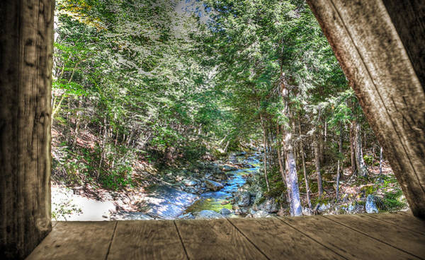 Aerial Tramway Wall Art - Photograph - Inside Out by Deborah Klubertanz